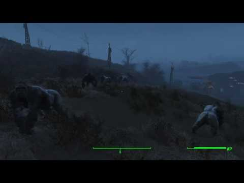 Fallout 4 - Spectacle Island Gorilla Defense Force