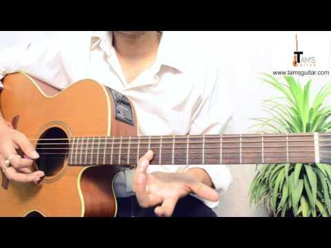 Harry Potter theme guitar lesson | www.tamsguitar.com
