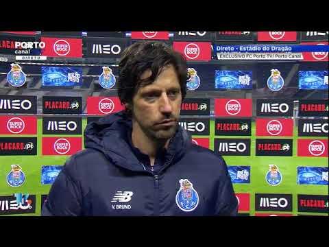 Declaracoes Vitor Bruno Pos Jogo Porto Canal Fc Porto 3 2 Famalicao Liga Nos Youtube