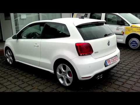 vw polo gti 1 4 tsi dsg youtube. Black Bedroom Furniture Sets. Home Design Ideas
