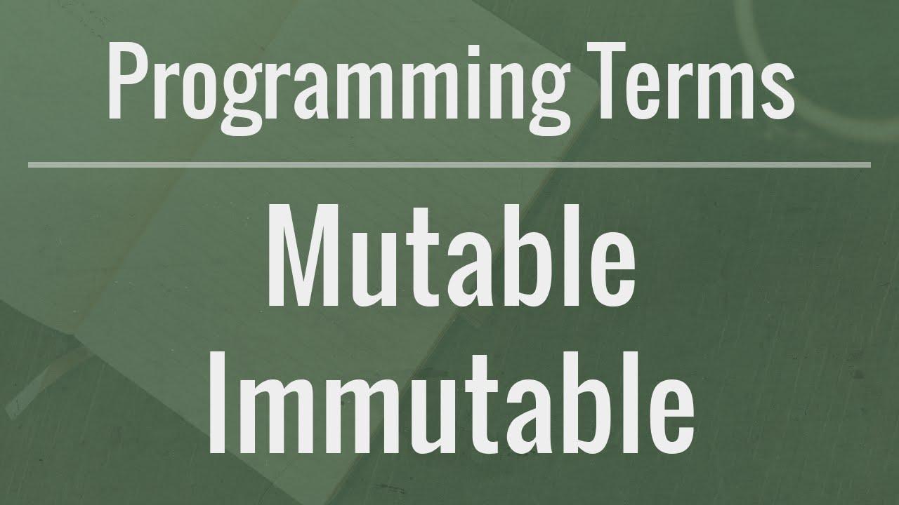 [JAVA] Hiểu khái niệm Immutable như thế nào cho đúng?