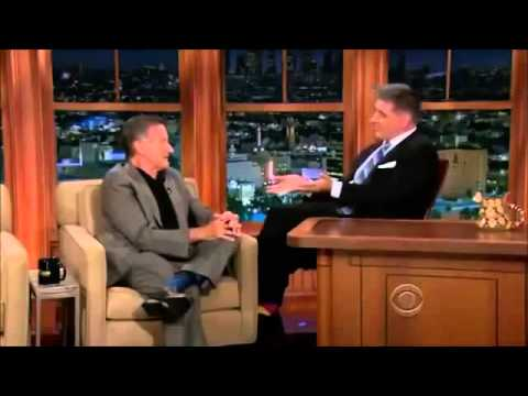 Robin Williams last interview on Craig Ferguson 2013  R.I.P.