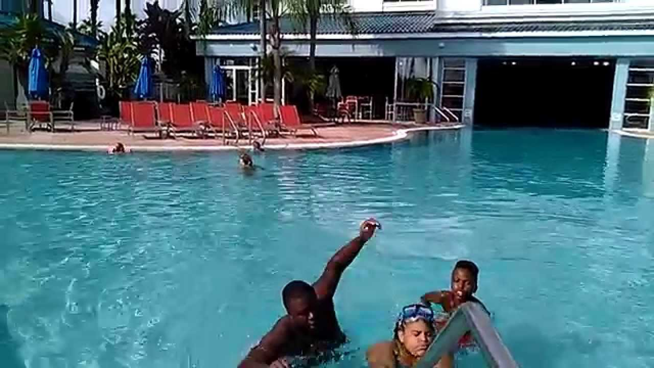 Hanging out by the pool side in orlando veda day 6 youtube for Pool show orlando 2015
