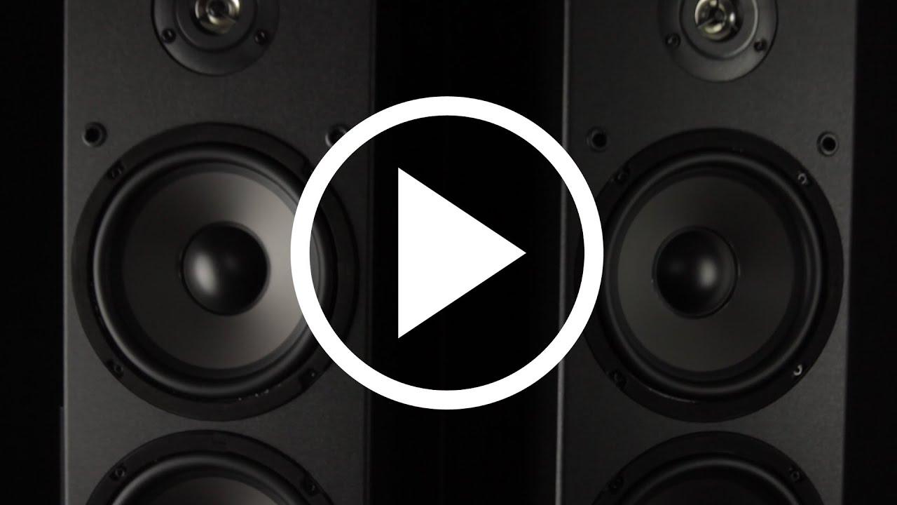 Dayton Audio T652 Dual 6 1 2 Way Tower Speaker Pair