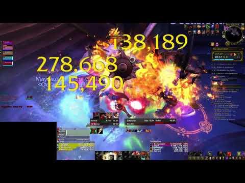 BRH+20 - Raging, Volcanic, Tyrannical (7.3.2) Fury Warrior PoV