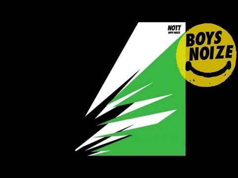 BOYS NOIZE - Nott (Shadow Dancer Remix) 'NOTT Single' (Official Audio)