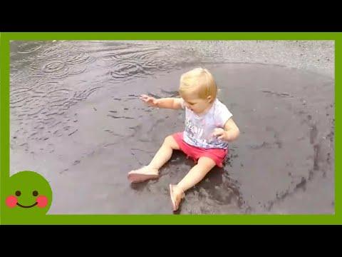 Videos para nios  Coleccin de nios traviesos con agua #2 #WOAbaby