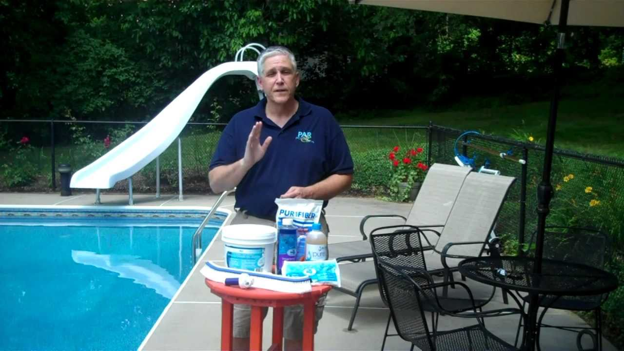 Curing Cloudy Pool Water Youtube