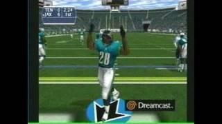 NFL 2K1 Dreamcast Gameplay