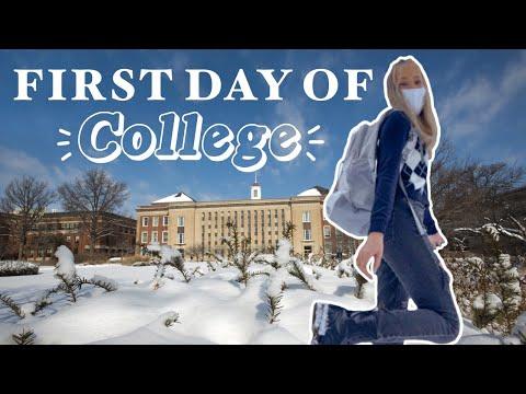 FIRST DAY OF COLLEGE | University of Nebraska-Lincoln