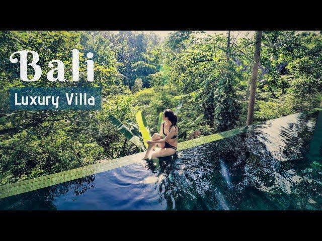 Luxury Villa Tour In Ubud Bali Private Infinity Pool Ep 3 Youtube