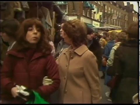 Petticoat Lane Market | Thames News Archive Footage