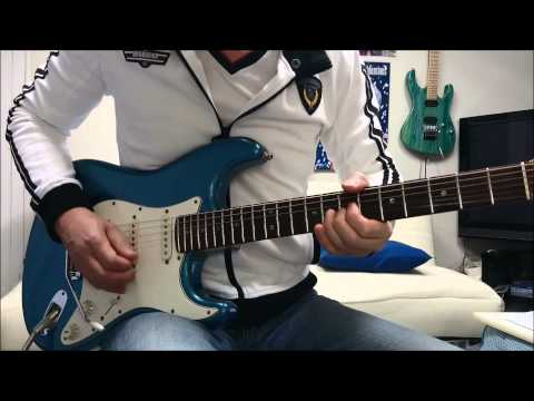 SMOKE ON THE WATER     DEEP PURPLE Guitar Cover