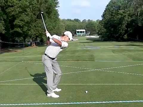 Charles Howell III  DL Slow Motion Swing working w Grant Waite