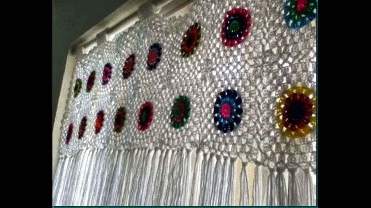 Cortinas Para Cocina Hechas A Crochet Magonz Com La Idea De  ~ Cortinas De Ganchillo Para Baño