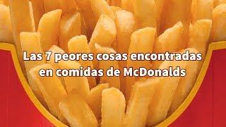 Las 7 cosas más asquerosas encontradas en comidas de McDonalds thumbnail