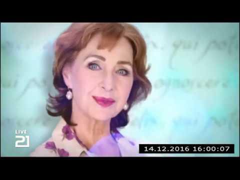 Christine Kaufmann bei Channel21 am 14.12.2016 - Teil 1
