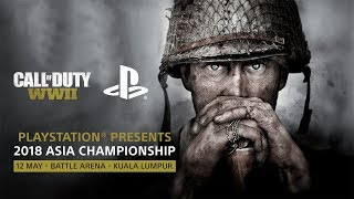 Call of Duty World War II 2018 Asia Championship Live Stream