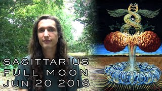 Astrology Forecast - Full Moon in Sagittarius, June 20 2016 - Psychic Warfare, Cover-Ups & Crusading