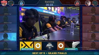 Grand Final MPL PH S3 Arkangel Vs Bren Esport Match 1 Mobile Legends Bang Bang