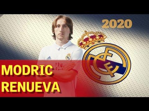 Modric renueva con el Real Madrid hasta 2020