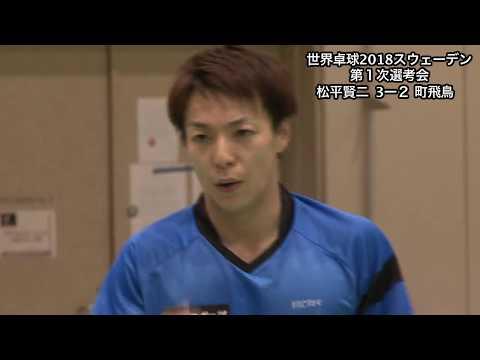 世界選手権 日本代表 卓球