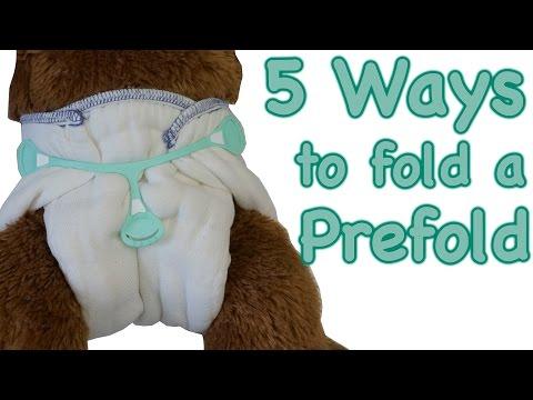 How to fold a Prefold!