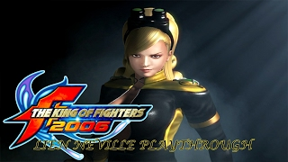 The King of Fighters 2006: Lien Neville Playthrough & Ending (PS2)