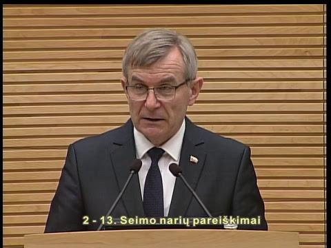 2019-02-14 Seimo vakarinis posėdis Nr. 260