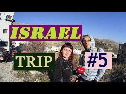 ISRAEL hitchhiking trip #5 border Syria-Lebanon/ Northern Israel/ Kiryat Shmona