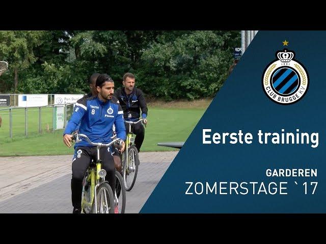 Zomerstage 2017: Eerste Training