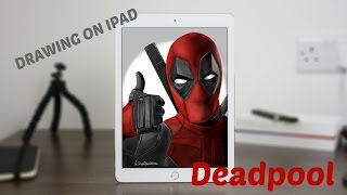 How I draw Deadpool on Ipad - PAPER BY 53