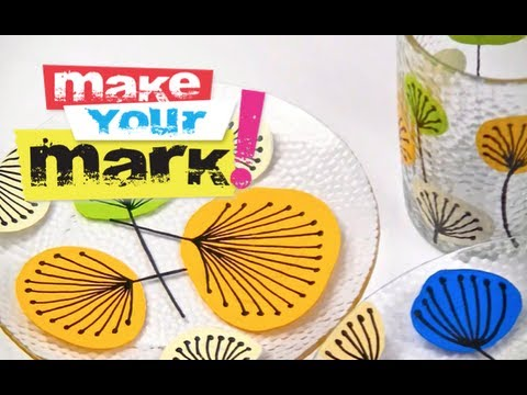 How to: Paint Dishes Permanently
