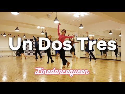 Un Dos Tres Line Dance (Jennifer Choo Sue Chin & Jaszmine Tan) Improver Demo & Count