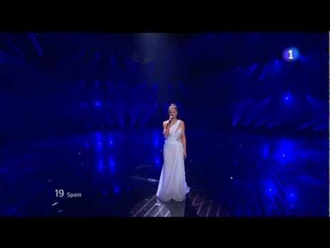 Eurovision 2012 HD FINAL - (spain) Pastora Soler - Quédate Conmigo 26/05/2012
