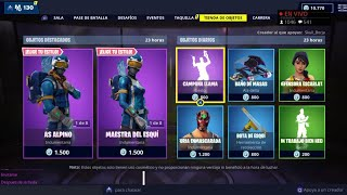 THE *NEW FORTNITE STORE* TODAY DECEMBER 18TH! THE RETURN OF THE SKINS OF THE ALPINE AS AND...