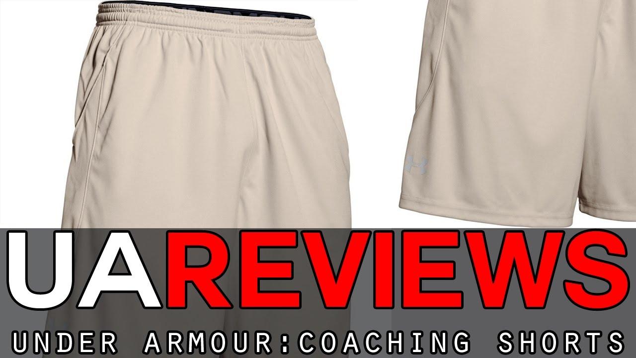 e1e92d35dc Under Armour Coaches Shorts Review