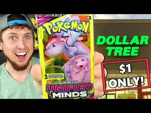 ONLY $1 FOR UNIFIED MINDS ULTRA RARES! Opening Dollar Tree Pokemon Cards