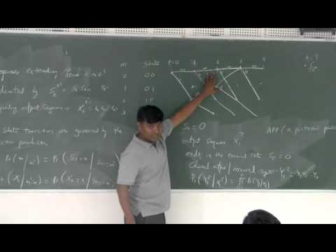MAP BCJR algorithm - Decoding of convolutional codes