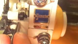 Заправка 3 х ниточного оверлока Yamata FN2 7D