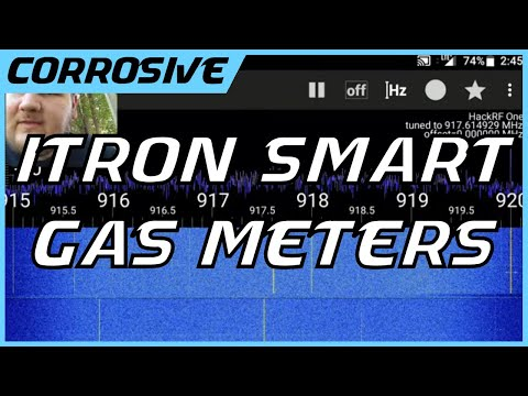 Itron Smart Gas Meter | Radio Exploration