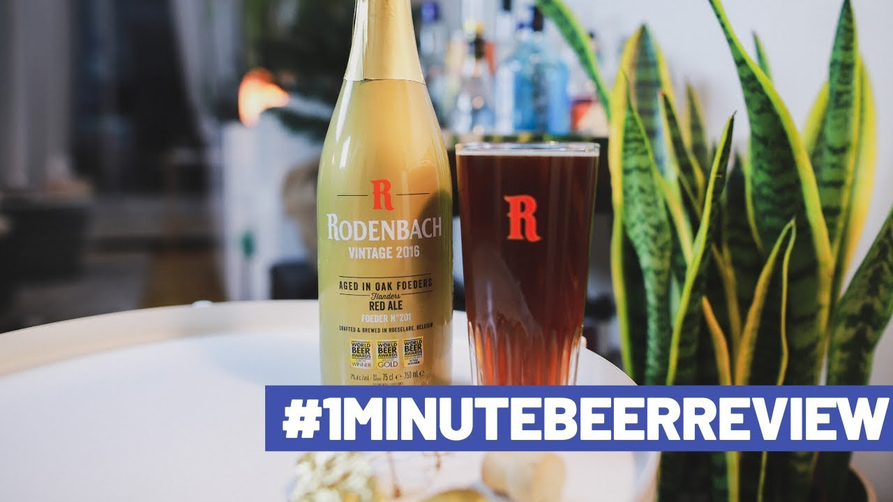 Download #1MinuteBeerReview - Rodenbach Vintage 2016 Flanders Red Ale
