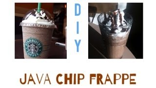 ☆ DIY: Starbucks Java Chip Frappuchino! ☆ Thumbnail