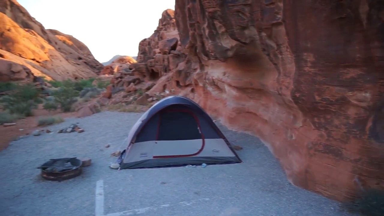 Valley Of Fire Campground Valley Of Fire State Park Camping Area Youtube