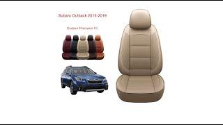 Oasis Auto Subaru Outback (2015-2019) seat cover installation-Custom Fit