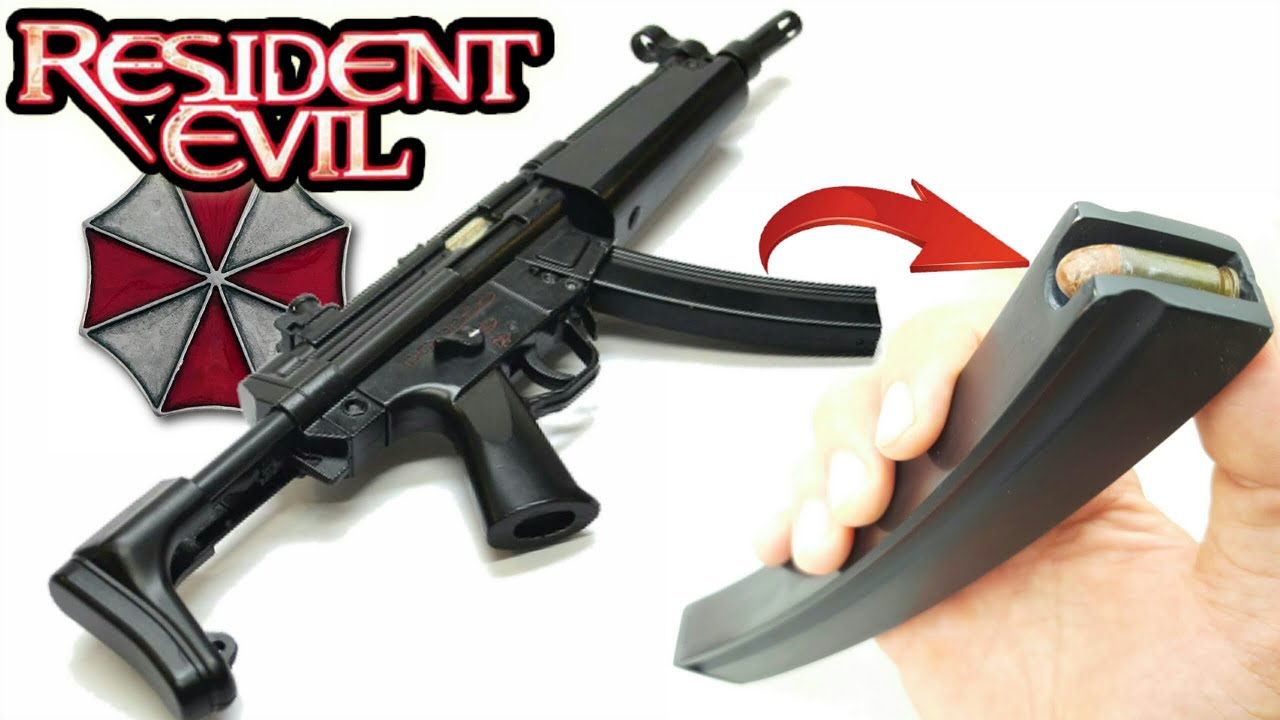 MP-5 из Resident Evil - Крафчу магазин к ПП