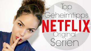 TOP 6 Netflix Serien | | Die du bestimmt noch nicht kennst, aber sehen musst! | | CurlyJey