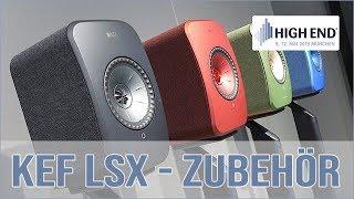 KEF LSX - Stands und Wandhalterung
