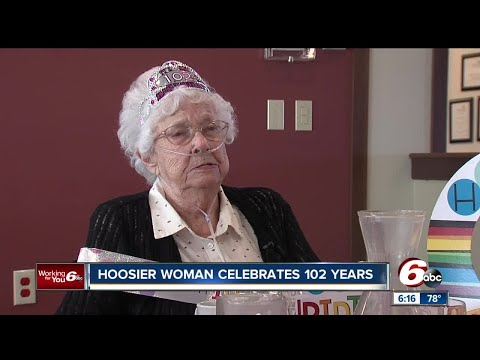 Margaret Smith celebrated her 102nd birthday on Monday with sliders from White Castle