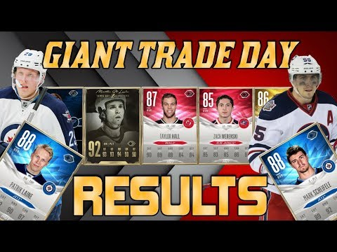 RESULTS! - My BEST Trade Day Of NHL 18
